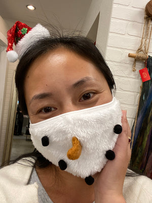 Holiday Mask Snow Man