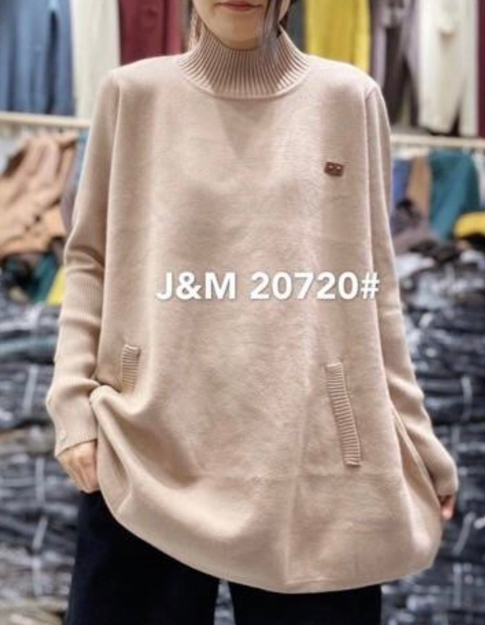 J.M 20720 TURTLENECK 50% COTTON, 30%MODAL, 20%POLYSTER