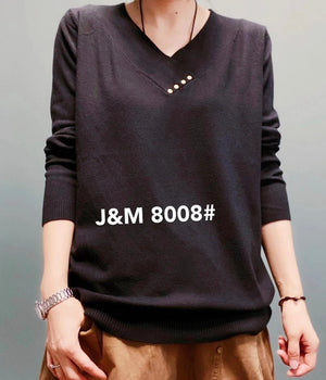 J.M 8008 TOP 40% Cotton, 40% MODAL and 20% Polyester