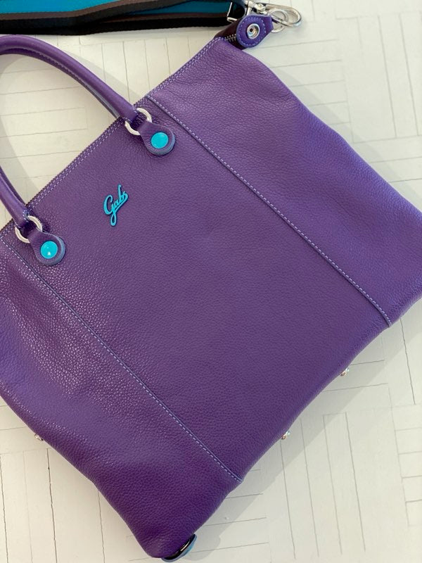GABS MATT CALF LEATHER BASIC VIOLET