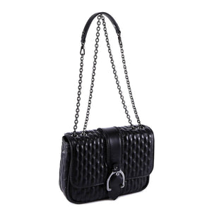 LONG L1357941001 Amazone Shoulder Bag Small Black