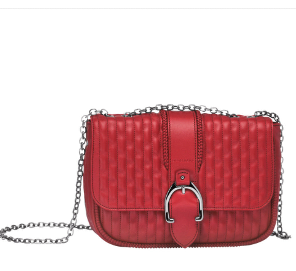 LONG L1357941545 Amazone Shoulder Bag Small Red