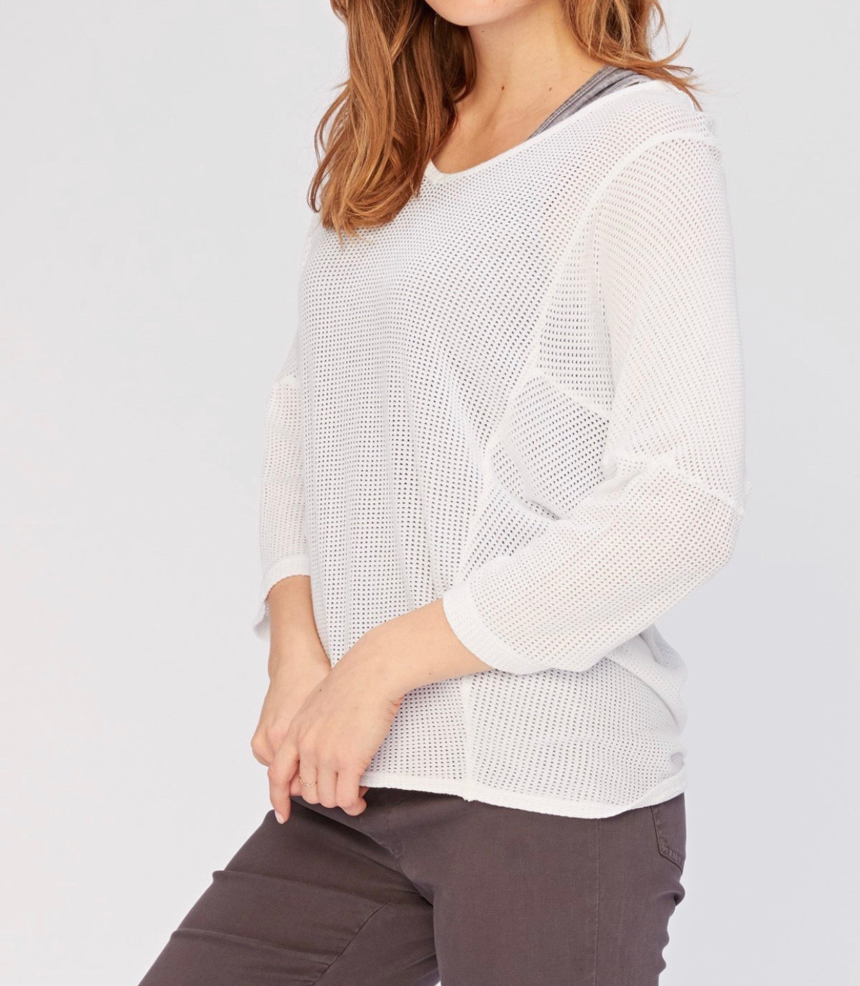 WEAR GUTHRIE TOP- mesh