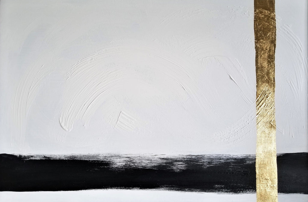 Original Minimalist Painting by Margaret Lipsey