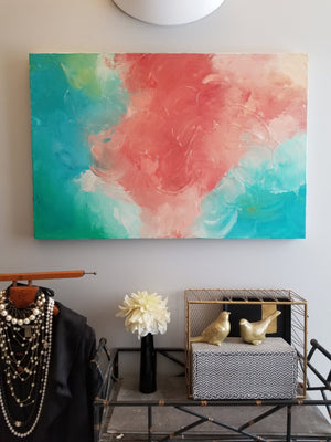 Original Abstract Painting by Margaret Lipsey