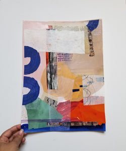 Abstract Collage Art for the Home or Office