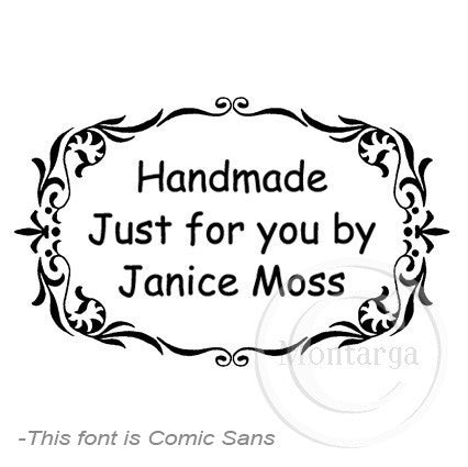 0469 E - Ornate Border - Custom