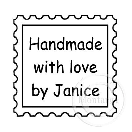 0479 C - Postage Stamp Border - Custom
