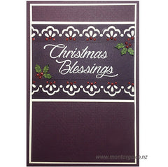 Christmas Blessings - Purple