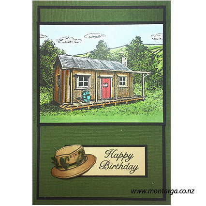 Tramping Hut - Green