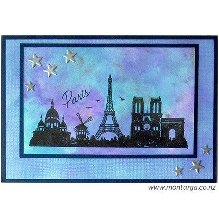 Paris - Blue and Violet