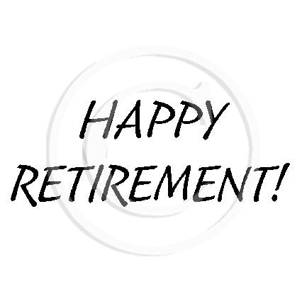 2748 B - Happy Retirement