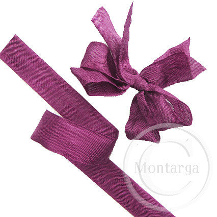 410 American Beauty (Plum) Seam Binding Ribbon - 3 metres