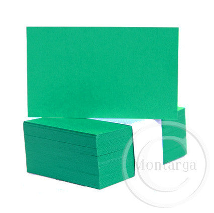 Bright Green Business Cards