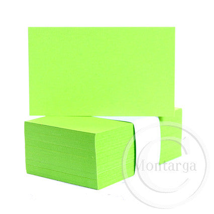 Bright Lime Business Cards