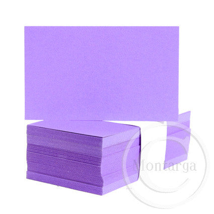 Bright Purple Business Cards