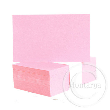 Pastel Pink Business Cards