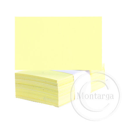 Pastel Yellow Business Cards