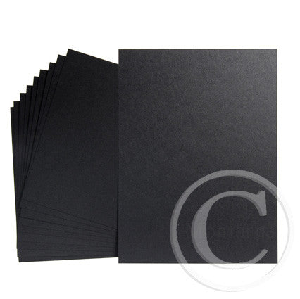 Black Greeting Card