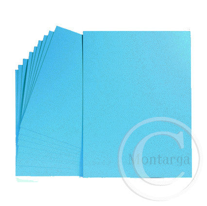 .Bright Blue Greeting Card