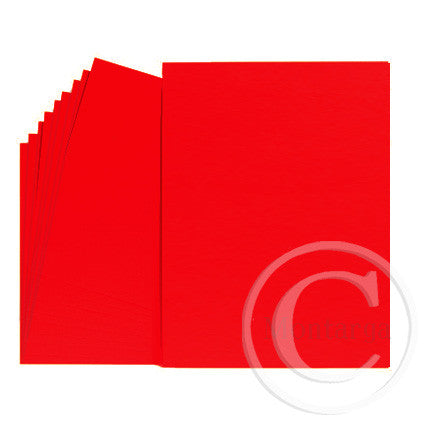 .Bright Red Greeting Card