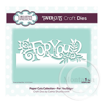 Paper Cuts Collection - For You Edger CEDPC1067