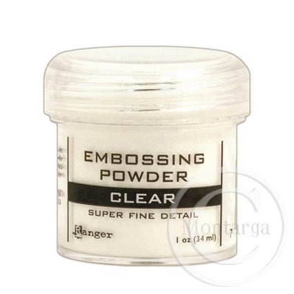 Super Fine Clear Embossing Powder