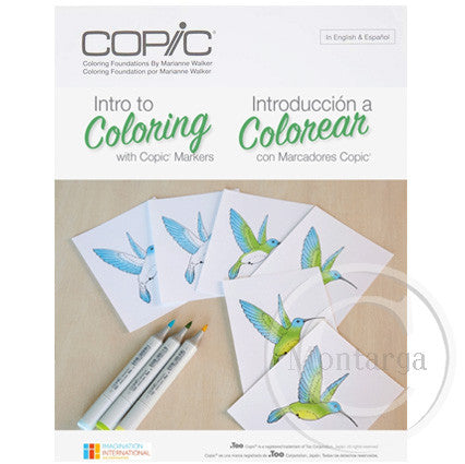 Intro to Colouring with Copics