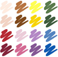 16 Piece Base Colour Blending Set