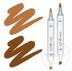Brown Blending Duo Copic Ciao Markers