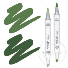 Green Blending Duo Copic Ciao Marker