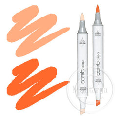 Orange Blending Duo Copic Ciao Markers