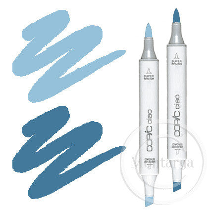 Smokey Blue Blending Duo Copic Ciao Markers