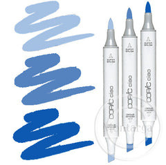 Blue Blending Trio Copic Ciao Markers