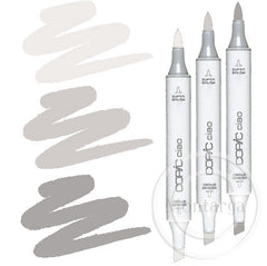 Grey Warm Blending Trio Copic Ciao Markers