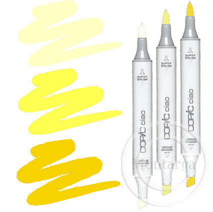 Yellow Blending Trio Copic Ciao Markers