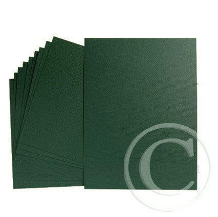 Green - Dark Green Greeting Card