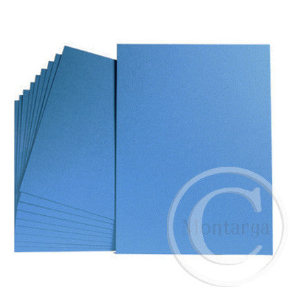 Blue - Mid Blue Greeting Card