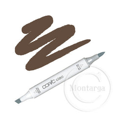 E49 - Dark Bark Copic Ciao Marker
