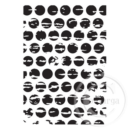 Kaisercraft Distressed Dots Embossing Folder EF284