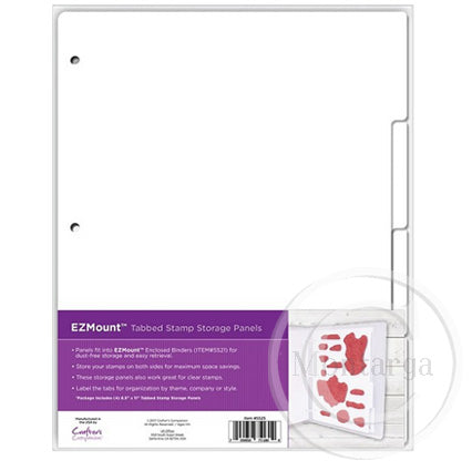 EZMount Tabbed Stamp Storage Panels