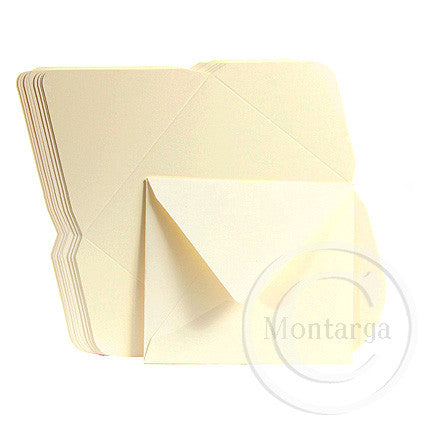 Yellow Cream Gift Card Envelopes