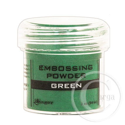 Green Embossing Powder