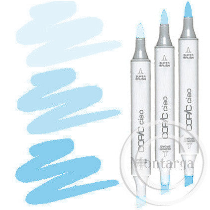 Light Blue Blending Trio Copic Ciao Markers