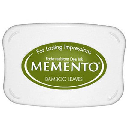 Bamboo Leaves Ink Pad - Memento