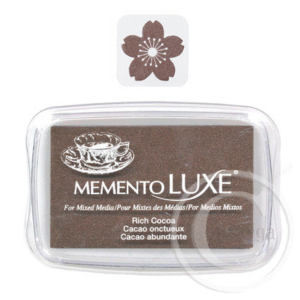 Rich Cocoa - Memento Luxe Ink Pad