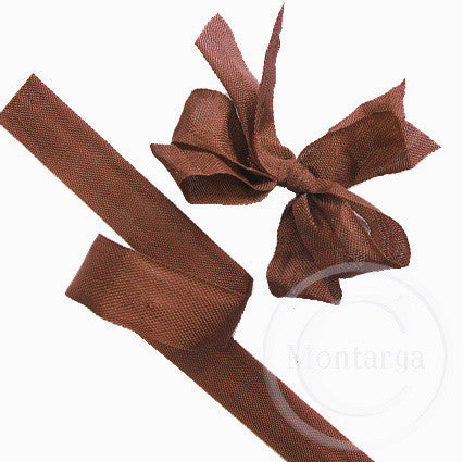 2097 Mimi Brown Seam Binding Ribbon - 3 metres