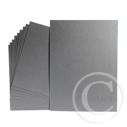 Grey Dark Greeting Card