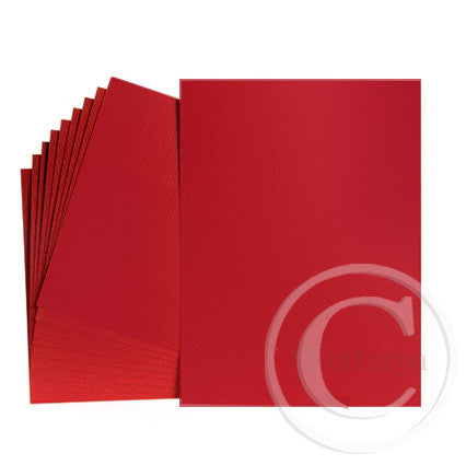Red - Christmas Red Greeting Card