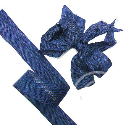 833 Skipper Blue Seam Binding Ribbon - 3 metres